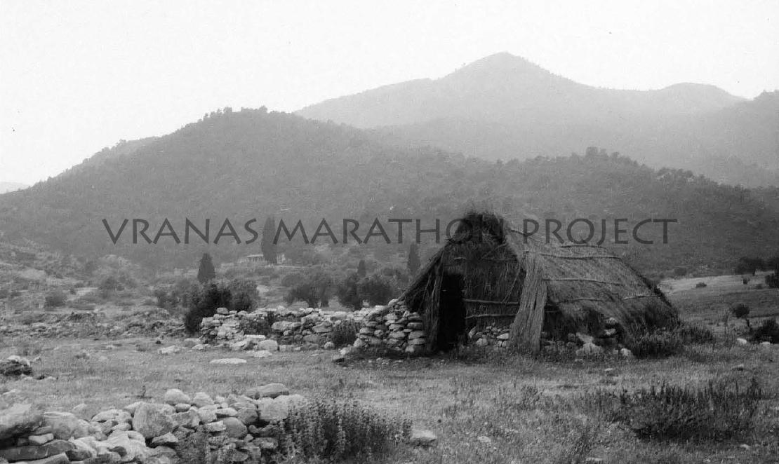 Vranas, Sarakatsani straw hut - Vranas Marathon