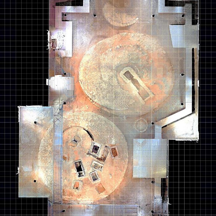Ορθοφωτογραφία Τύμβων I, II & III - Βρανάς Μαραθώνα